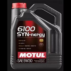 Масло моторное Motul 6100 Synergie 5W-30 синт. API SL/CF 5л