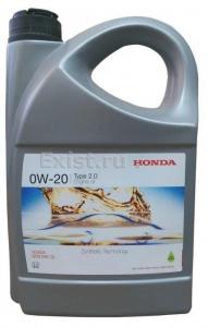 Масло моторное Honda 0W-20 TYPE 2.0 синт. 4л