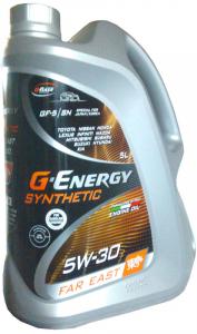 Масло моторное G-Energy Synthetic Far East 5W-30 синт. API SN/GF-5 5л