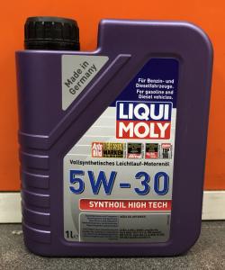 Масло моторное Liqui Moly Synthoil High Tech 5W-30 синт. API SM/CF 1л