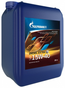 Масло моторное Gazpromneft Diesel Prioritet 15W-40 минер. API CH-4/SJ 20л