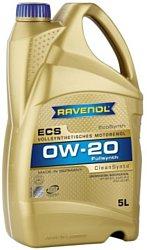 Масло моторное Ravenol ECS EcoSynth 0W-20 API SN синт. 5л