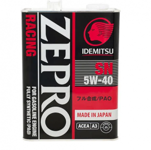 Масло моторное Idemitsu ZEPRO RACING 5W-40 синт. API SN 4л