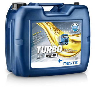 Масло моторное Neste Turbo LXE 10W-40 синт. API CI-4/SL 20л (розлив)