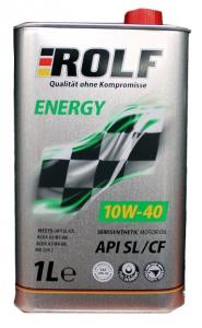Масло моторное ROLF Energy 10W-40 п/синт. API SL/CF 1л