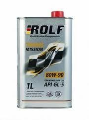 Масло трансмиссионное ROLF Transmission 80W-90 минер. API GL-5 1л