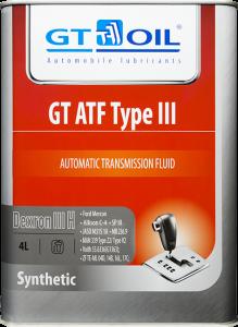 Масло трансмиссионное GT ATF Type-3 (DEXRON-III) 4л