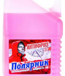Антифриз Полярник(-40) G12 (красный) 5кг