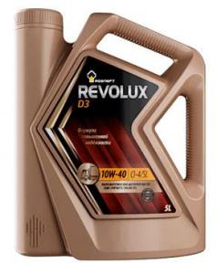 Масло моторное Rosneft Revolux D-3 10W-40 п/синт. API CI-4/CL 5л