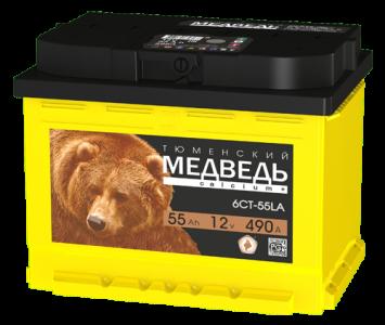 Аккумулятор Тюменский медведь 55 п/п