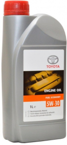 Масло моторное Toyota Motor Oil 5W-30 FE синт. API SL/CF (пластик.тара) 1л