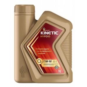 Масло трансмиссионное Rosneft Kinetic Hypoid 75W-90 п/синт. API GL-5 1л