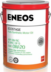 Масло моторное Eneos Ecostage 0W-20 синт. API SN 20л (розлив) (1 литр)