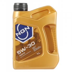 Масло моторное NGN AGATE 5W-30 синт. API SL/CF 1л