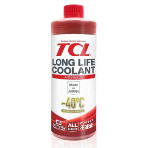 Антифриз TCL Super Long Life Coolant (красный) -40 1л