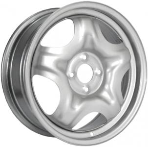 Диск стальной 16x6,5 4x100 ET37 DIA 60,1 ТЗСК Renault Sandero металлик