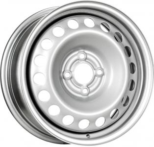 Диск стальной 15x6 4x100 ET36 DIA60,1 TREBL X40014 Логан silver