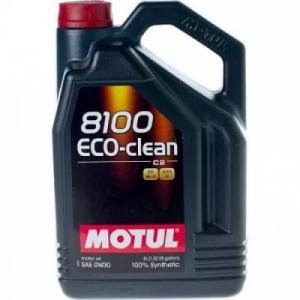 Масло моторное Motul 8100 ECO-clean С2 0W-30 синт. API SM/CF 5л