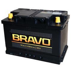 Аккумулятор Bravo 74 п/п