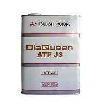 Масло трансмиссионное Mitsubishi DiaQueen ATF J3 4л