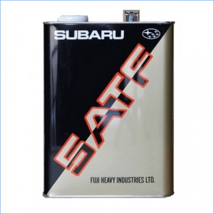 Масло трансмиссионное Subaru 5ATF 4л