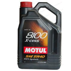 Масло моторное Motul 8100 Х-cess 5W-40 синт. API SN/CF 5л
