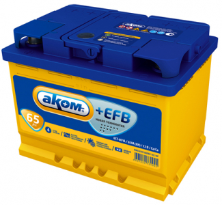 Аккумулятор Аком 65 п/п EFB EN670