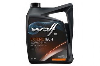 Масло моторное WOLF EXTENDTECH HM 10W-40 п/синт. API SM/CF 4л
