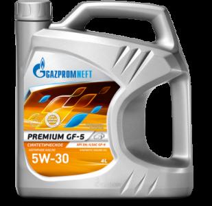 Масло моторное Gazpromneft Premium GF-5 5W-30 синт. API SN 4л