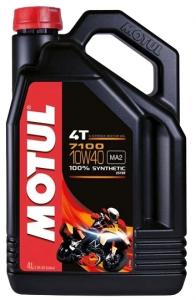 Масло моторное Motul Moto 7100 4T 10W-40 синт. API SN 4л