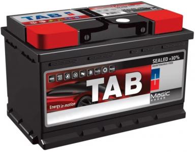 Аккумулятор Tab Magic Blue 62ah (низкий) о/п