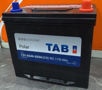 Аккумулятор Tab Polar S (75D23R) ASIA 65ah п/п