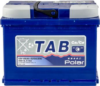 Аккумулятор Tab Polar Blue 66ah п/п
