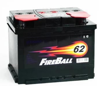 Аккумулятор Fire Ball 62ah п/п