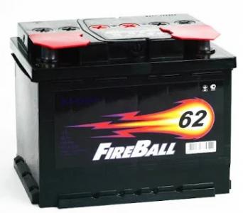 Аккумулятор Fire Ball 62ah о/п