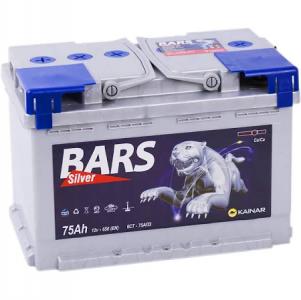 Аккумулятор Bars  75ah (нижнее крепление) о/п