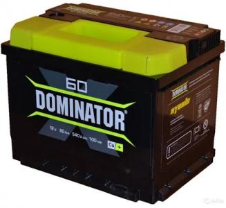 Аккумулятор Dominator 60ah п/п