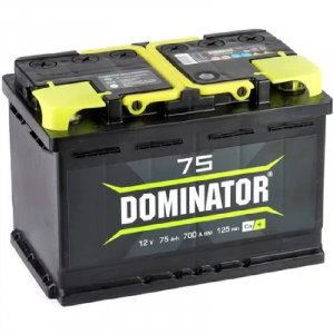 Аккумулятор Dominator 75ah о/п