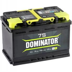 Аккумулятор Dominator 75ah п/п