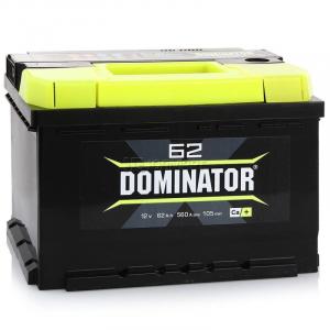 Аккумулятор Dominator 62ah о/п