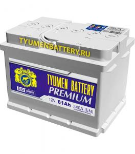 Аккумулятор Тюмень Премиум 60 (низкий) о/п