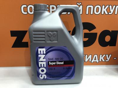 Масло моторное Eneos Super Diesel 5W-30 п/синт. API CG-4 6л