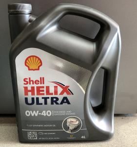 Масло моторное Shell Helix Ultra 0W-40 синт. API SL/CF 4л