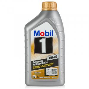 Масло моторное Mobil-1 Advanced Full Synthetic FS (New Life) 0W-40 синт. API SM/CF 1л