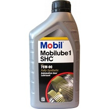 Масло трансмиссионное Mobilube SHC 75W-90 синт. API GL-4/GL-5 1л