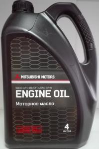 Масло моторное Mitsubishi Motor Oil 5W-30 API SN/CF 4л