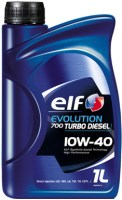 Масло моторное ELF Evolution 700 TURBO DIESEL 10W-40 п/синт. API SL/CF 1л