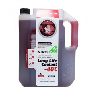 Антифриз TOTACHI Super Long Life Coolant (красный) -40 4л