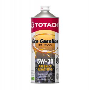 Масло моторное Totachi Eco Gasoline 5W-30 п/синт. API SM/CF 1л