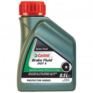 Жидкость тормозная Castrol Brake Fluid DOT-4  0,5л